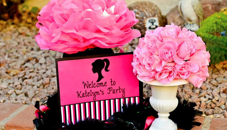 Barbie Theme Birthday Party