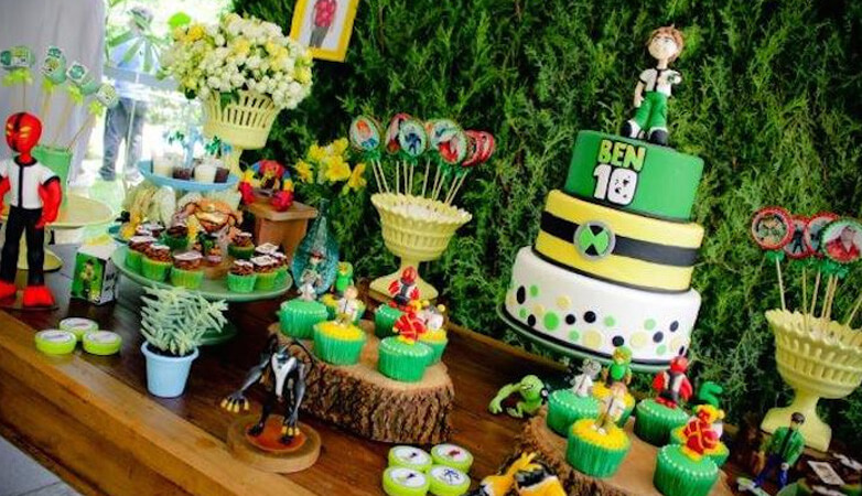 Ben 10 Theme Birthday Party