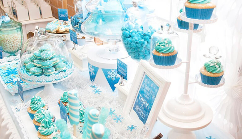 Disney Frozen Elsa Anna Girl Theme Birthday Party