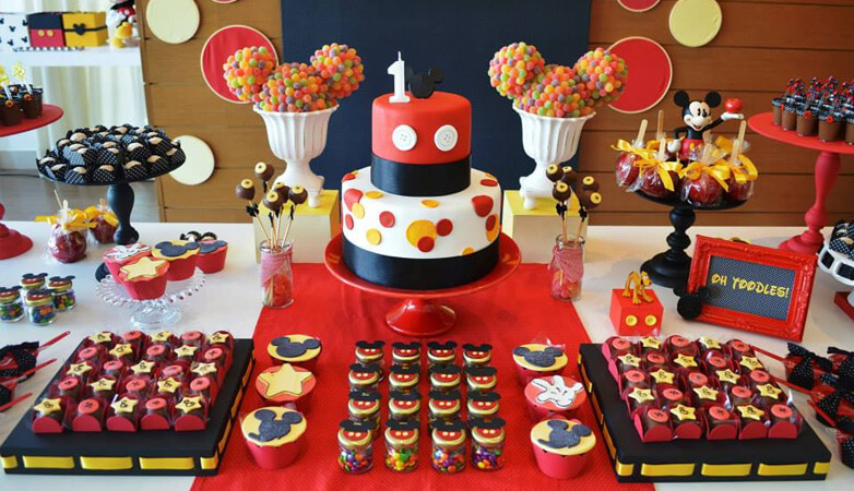 Mini Mouse Themed Birthday Party
