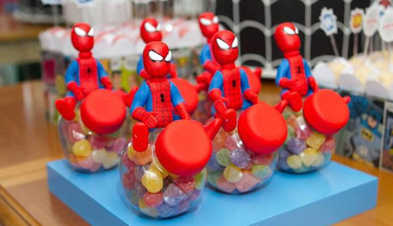 Spiderman Themed Birthday Party for Boys